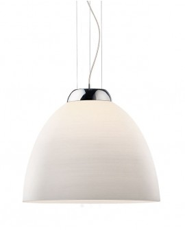 "SUSPENSION ""TOLOMEO"" SP1 D40 BIANCO IDEAL LUX"