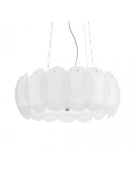 "SUSPENSION ""OVALINO"" SP8 IDEAL LUX"