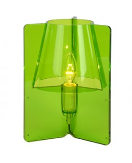 LAMPE DE TABLE TRIPLI VERTE