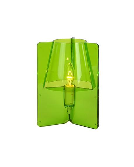 LAMPE DE TABLE TRIPLI VERTE