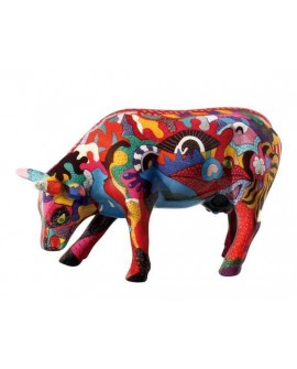 "VACHE P.M ""PARTYING WITH PI-COW"" COL. COWPARADE"