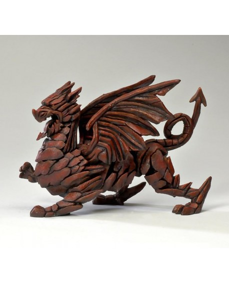 DRAGON (RED) BY EDGE SCULPTURE