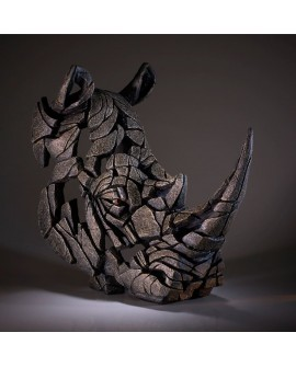 RHINOCEROS BUST BY EDGE SCULPTURE