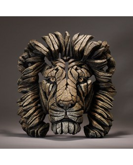 LION BUST (SAVANNAH) BY EDGE SCULPTURE