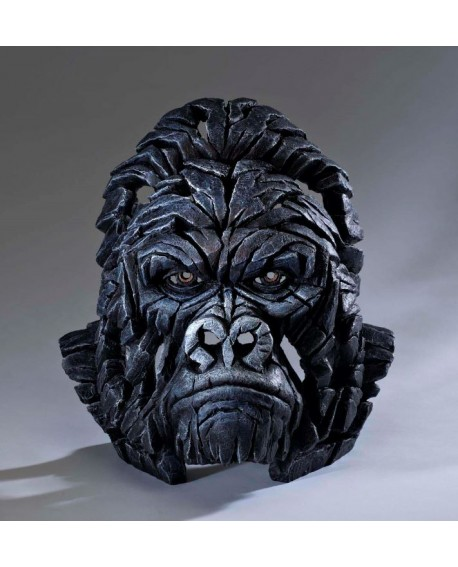 GORILLA BUST BY EDGE SCULPTURE