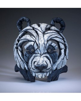 PANDA BUST BY EDGE SCULPTURE