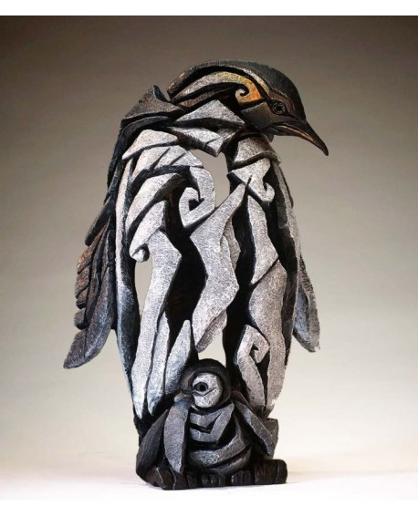PENGUIN BUST BY EDGE SCULPTURE