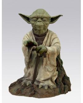 Yoda using the Force 1/5  E. Limitée Attakus