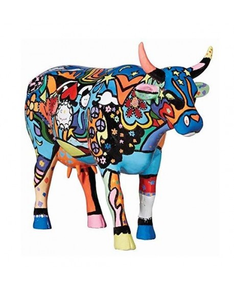 "VACHE ""MOOSY IN THE SKY WITH DIAMONDS"" COL. COWPARADE"