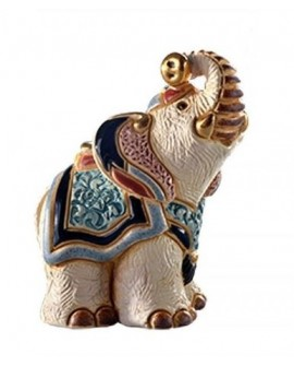 STATUETTE BEBE ELEPHANT JAIPUR DE ROSA