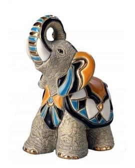 STATUETTE ELEPHANT ASIATIQUE DE ROSA