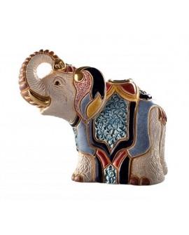 STATUETTE ELEPHANT JAIPUR DE ROSA