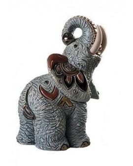 STATUETTE ELEPHANT SAMBURU DE ROSA