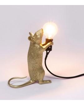 LAMPE SOURIS OR SELETTI