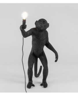 LAMPE SINGE DEBOUT VERSION NOIR SELETTI