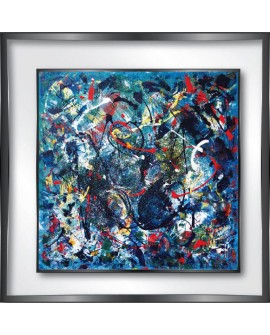 TABLEAU PLEXIGLASS TRANSATS 60X60  CM CREATION