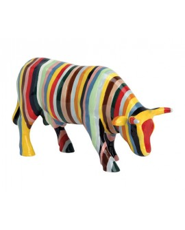 "VACHE ""STRIPED"" PM COL. COWPARADE"