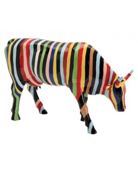 "VACHE ""STRIPED"" COL. COWPARADE"