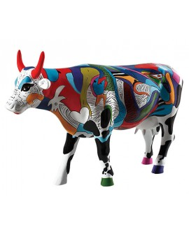 "VACHE ""ZIV'S UDDERLY COOL COW"" COL. COWPARADE"