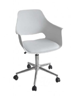 FAUTEUIL MOON BLANC