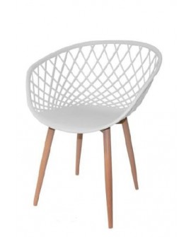 CHAISE TULL BLANCHE