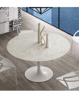 TABLE REPAS MARBRE MOD. ISLAND LA SEGGIOLA