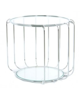 TABLE D'APPOINT TAMBOUR  SO SKIN IDASY