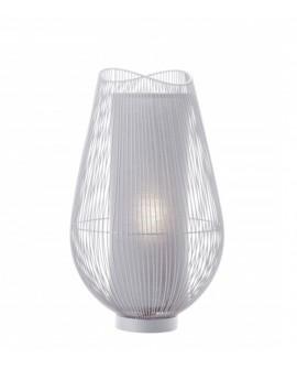 LAMPE GRANDE FLEUR BLANCHE  SO SKIN IDASY