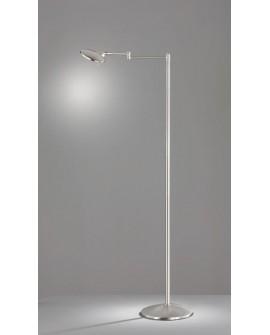 LAMPADAIRE LED KAZAN NICKEL TRIO