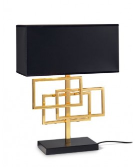 "LAMPE ""LUXURY GOLD"" LT1 IDEAL LUX"