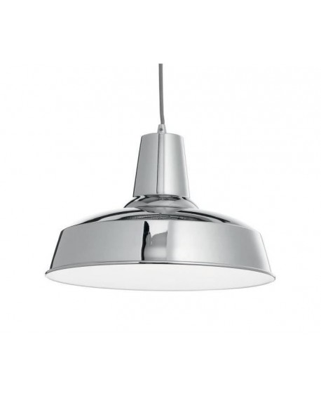 SUSPENSION MOBY SP1 CHROME IDEAL LUX