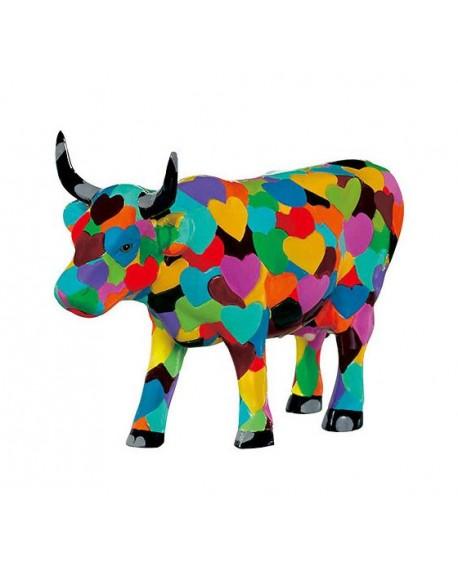"VACHE P.M ""HEARTSTANDING COW"" COL. COWPARADE"