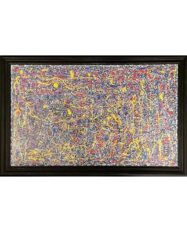 PEINTURE SUR BOIS LORADO 47 x 72 cm
