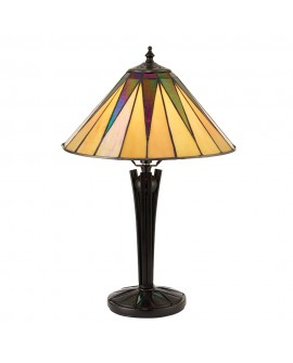 "LAMPE TIFFANY ""DARK STAR"" SMALL"