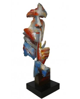 "SCULPTURE HOMME SILENCE ""PIGMENT"" SOCADIS"
