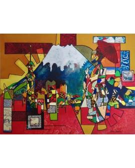 TOKYO 91 x 121 cm ALINE CHEVALIER