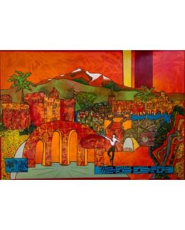 PERPIGNAN 70 x 100 cm ALINE CHEVALIER