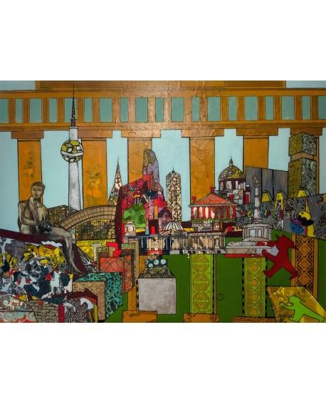 THE WALL, BERLIN 122 x 92 cm ALINE CHEVALIER