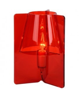 LAMPE DE TABLE TRIPLI ROUGE